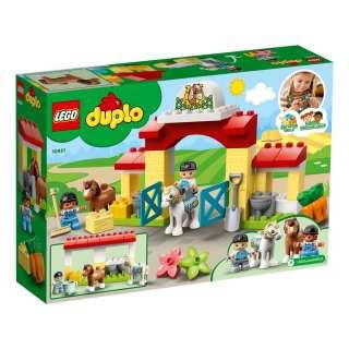 LEGO DUPLO FARM STALA ZA KONJE I BRIGA O PONIJU