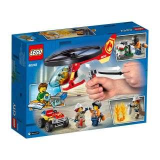 LEGO CITY FIRE VATROGASNI HELIKOPTER NA DJELU