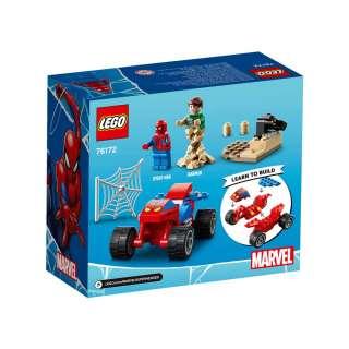 LEGO SUPER HEROES SPIDER-MAN I SANDMAN SHOWDOWN