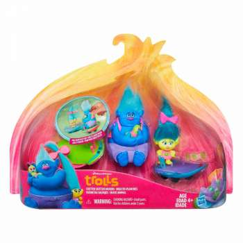 TROLLS FIGURE NA SKITTER BOARDS