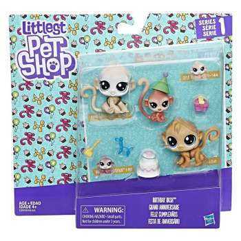 LITTLEST PETS SHOP FAMILY PACK