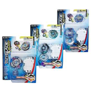 BEYBLADE SWITCHSTRIKE STARTER PACK AST
