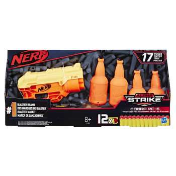NERF ALPHA STRIKE COBRA RC 6 TARGET SET