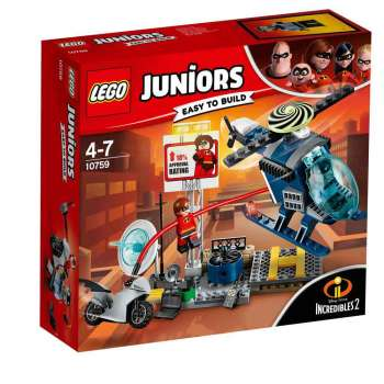 LEGO JUNIORS ELASTGIRL POTJERA NA KROVU