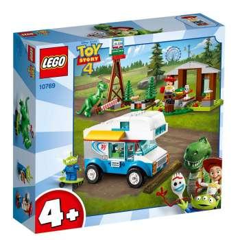 LEGO JUNIORS ODMOR SA TOY STORY 4 RV KAMPEROM