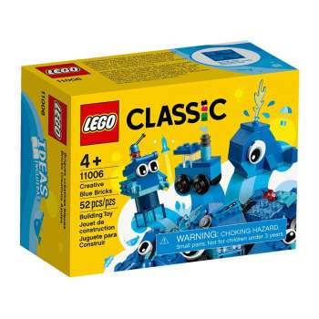 LEGO LEGO CLASSIC KREATIVNE PLAVE KOCKICE