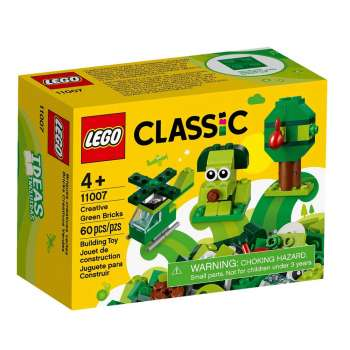 LEGO LEGO CLASSIC KREATIVNE ZELENE KOCKICE