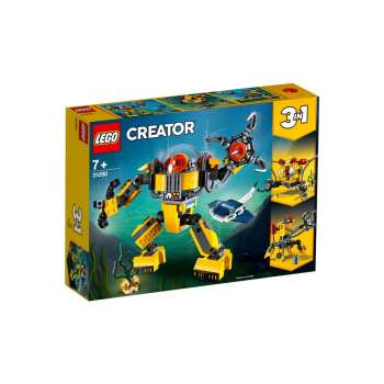 LEGO CREATOR PODVODNI ROBOT