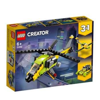 LEGO CREATOR PUSTOLOVINA U HELIKOPTERU