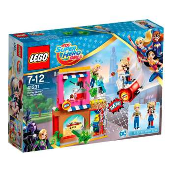 LEGO SUPER HERO GIRLS HARLEY QUINN DOLAZI U SPAS