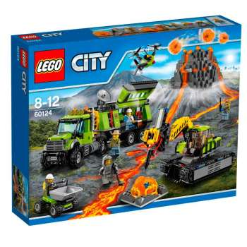 LEGO CITY BAZA ZA ISTRAZIVANJE VULKANA