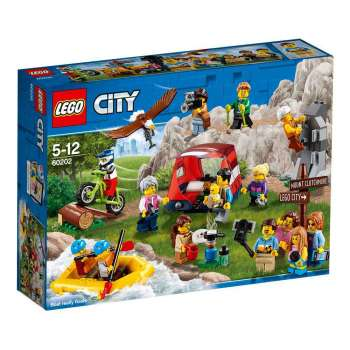 LEGO CITY SET LJUDI VANJSKE PUSTOLOVINE