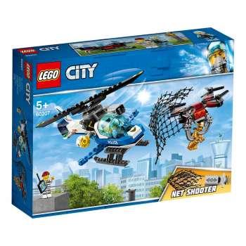 LEGO CITY POTERA NEBESKE POLICIJE DRONOM