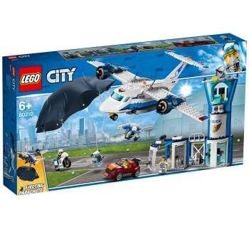 LEGO CITY ZRACNA BAZA NEBESKE POLICIJE