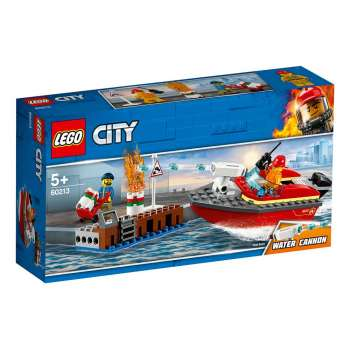 LEGO CITY POZAR NA DOKOVIMA