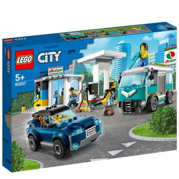 LEGO CITY NITRO WHEELS AUTO SERVIS