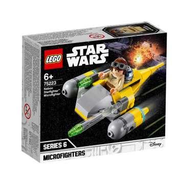 LEGO STAR WARS NABOO STARFIGHTER MIKROBORAC