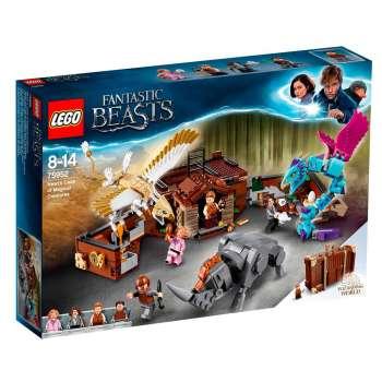 LEGO HARRY POTTER NEWTOVA KUTIJA SA MAGICNIM KREATURAMA