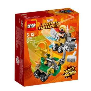LEGO SUPER HEROES MIGHTY MICROS THOR PROTIV LOKIJA