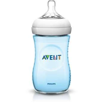 AVENT FLASICA NATURAL 260ML PLAVA 4486