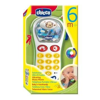 CHICCO GLAZBENI FOTO VIBRA TELEFON 6M+