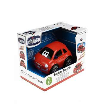 CHICCO FIAT 500 TURBO TOUCH, CRVENI