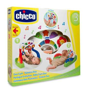 CHICCO CHICCO DUO GYM AKTIVNOST 3M+