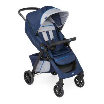 CHICCO KOLICA KWIK ONE, BLUE PRINT