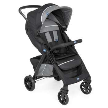 CHICCO KOLICA KWIK ONE, JET BLACK