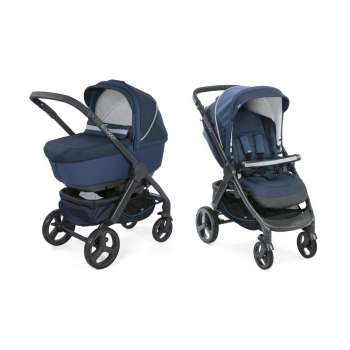 CHICCO KOLICA DUO STYLE GO CROSSOVER, BLUE PASSION