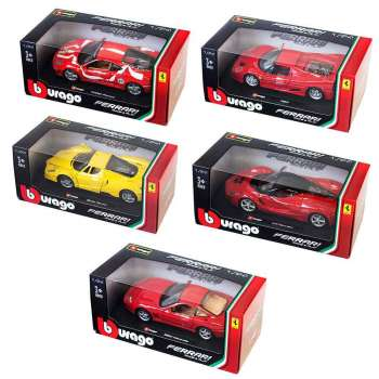 BURAGO 1 24 FERRARI R & P VEHICLES