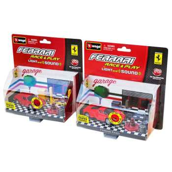 BURAGO FERARI RACING LIGHT AND SOUND