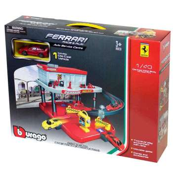 BURAGO FERRARIRACE AND PLAY AUTO SERVICE 1 43