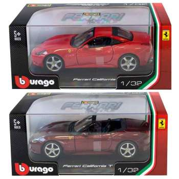 BURAGO 1 32 FERRARI R & P VEHICLES