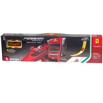 BURAGO FERRARI R&P SINGLE LOOP STUNT SET 1 64