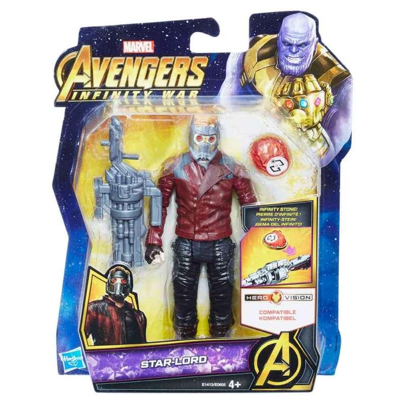 AVENGERS 6IN FIGS W STONE AND ACCESSORY