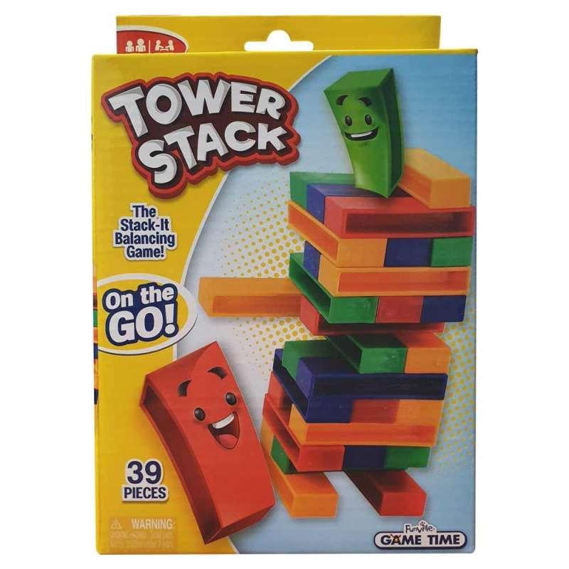 FUNVILLE DRUSTVENA IGRA TOWER STACK - ON THE GO