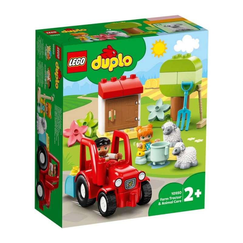LEGO DUPLO FARM TRAKTOR I BRIGA O ZIVOTINJAMA NA FARMI