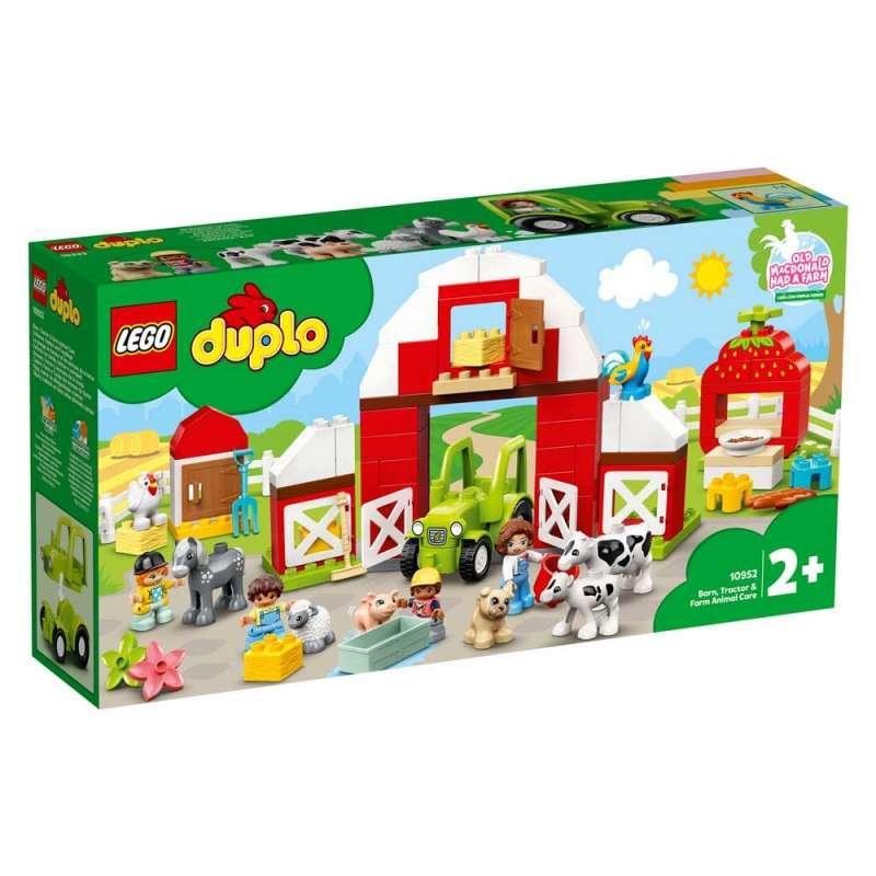 LEGO DUPLO FARM STALA, TRAKTOR I BRIGA O ZIVOTINJAMA