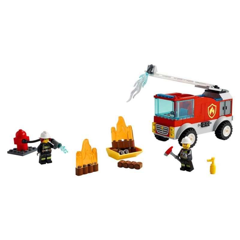LEGO CITY FIRE VATROGASNI KAMION SA LJESTVAMA