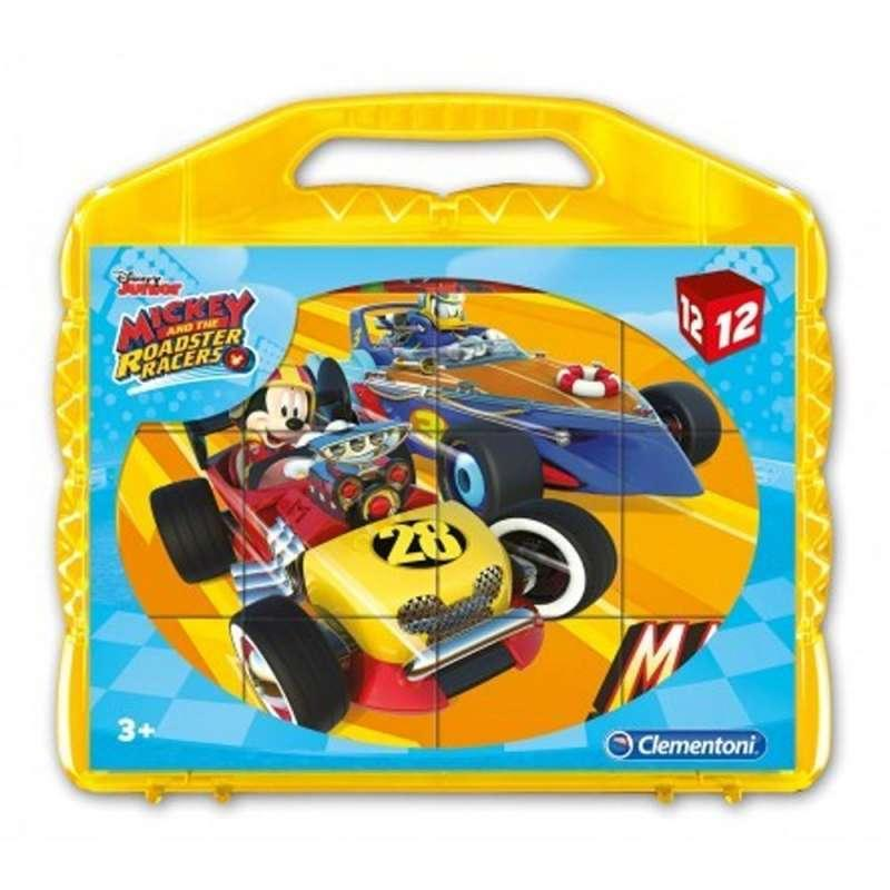 CLEMENTONI KOCKE 12 MICKEY AND THE ROADSTER RACERS