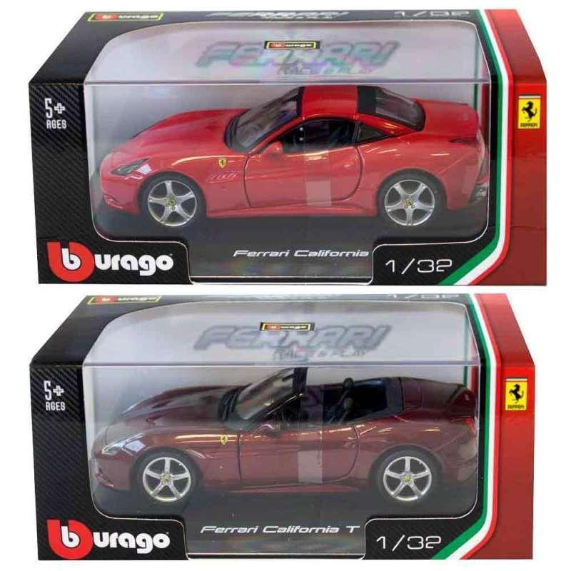 BURAGO 1 32 FERRARI R & P VEHICLES