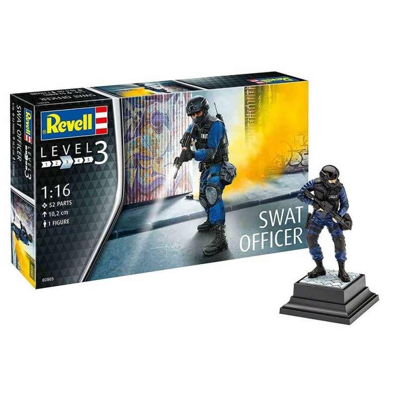 REVELL FIGURA SWAT OFFICER
