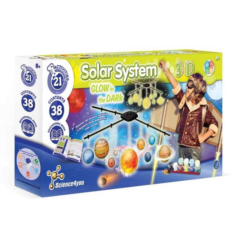 S4Y 3D SOLARNI SISTEM